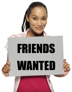 FRIENDS WANTED